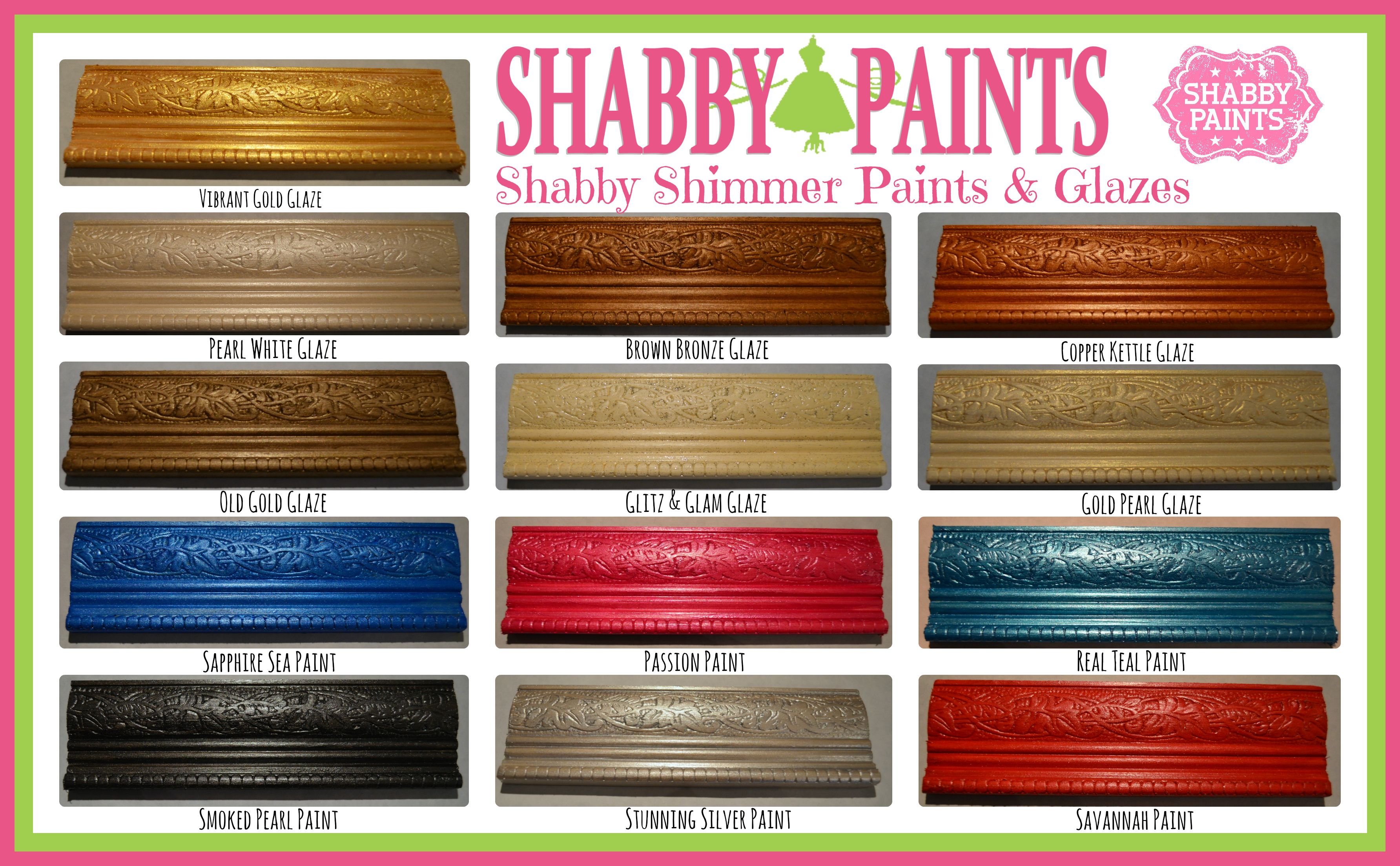 Our Products - Shabby Paints