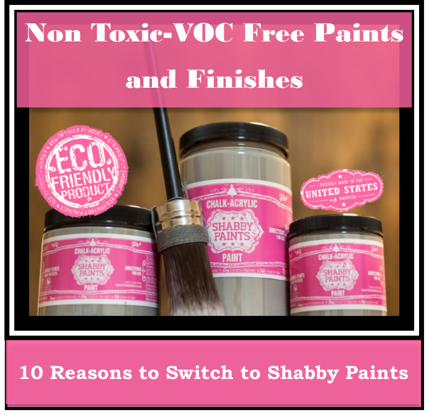 10 reasons to switch to Shabby Paints