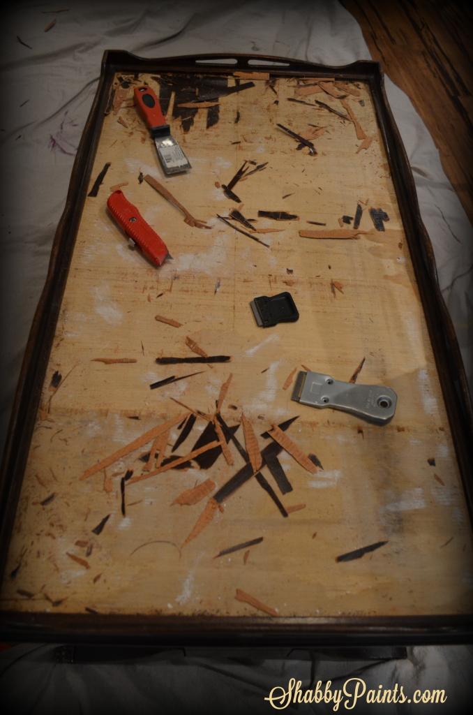 Duncan Phyfe Damaged Veneer Shabby Paints