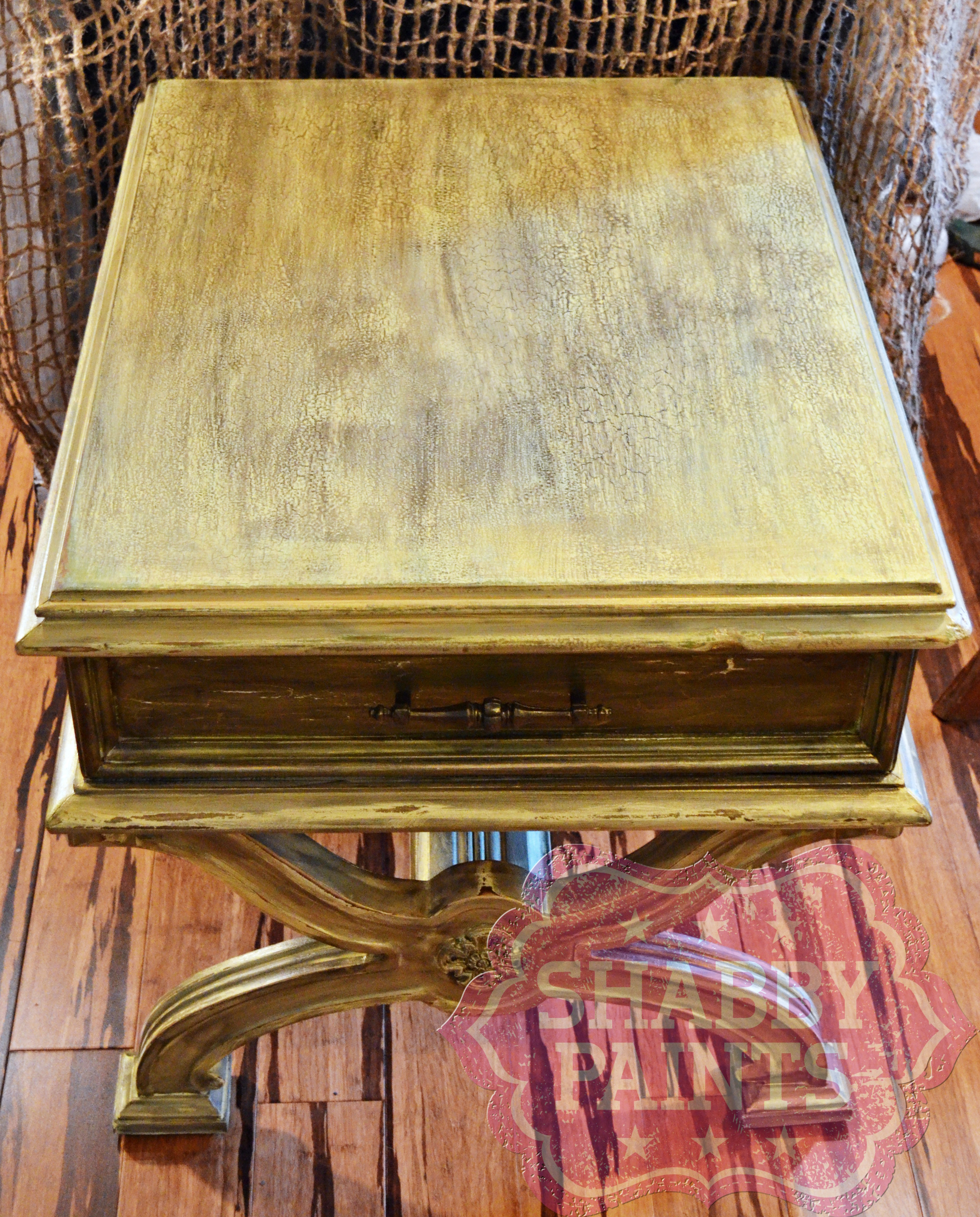 Heavily Distressed Furniture Using Furniture Fracture
