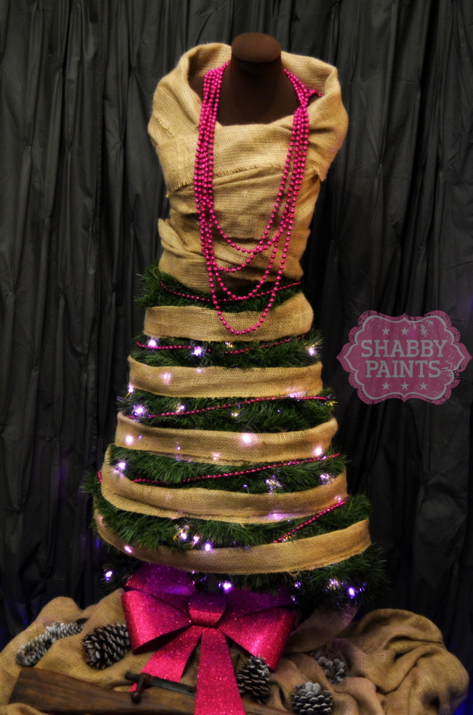 Christmas Tree Dress Form