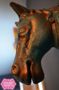 Faux Metal Patina Copper Amp Bronze Using Chalk Paint