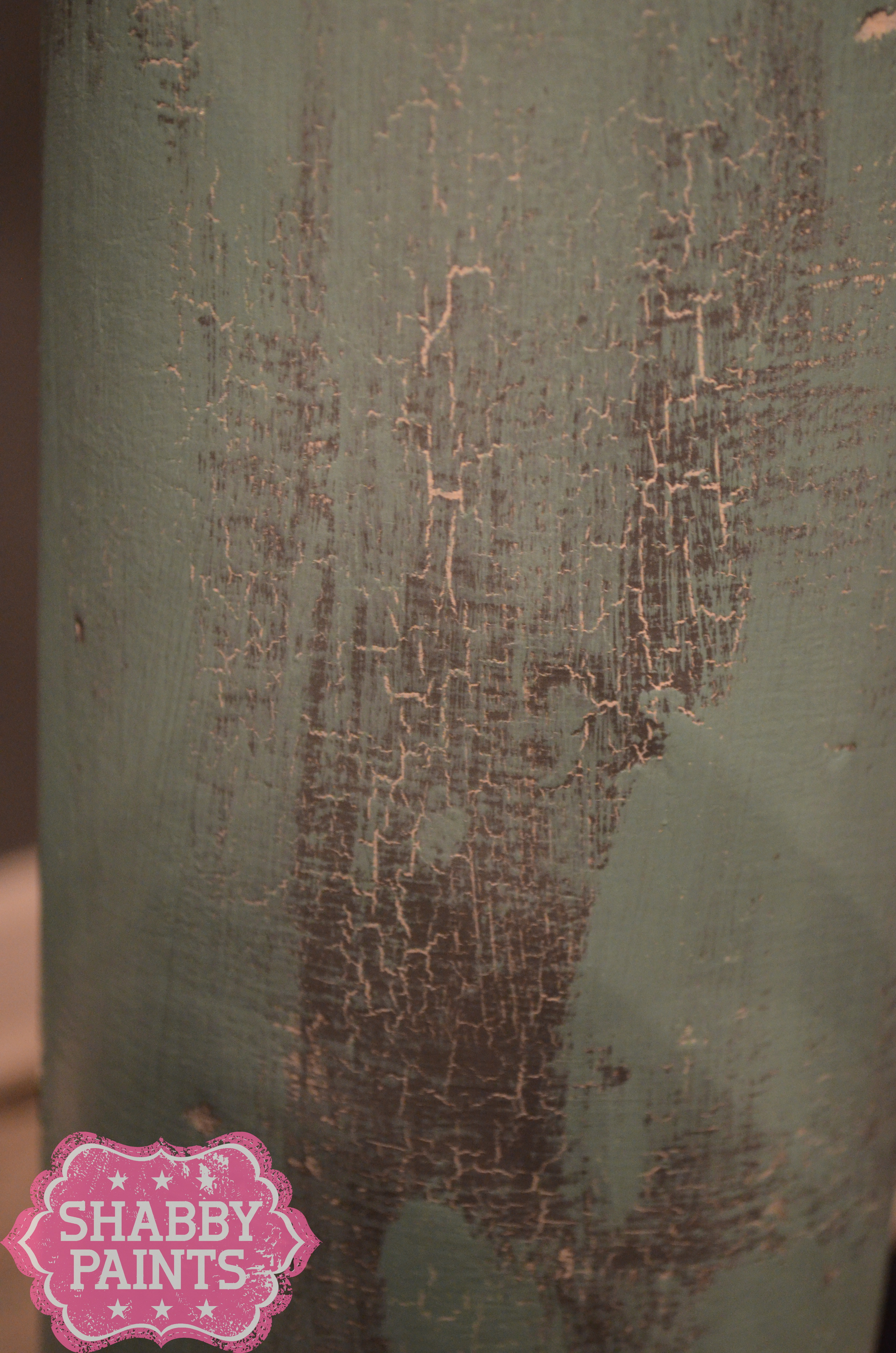 how to make a canvas painting look distressed