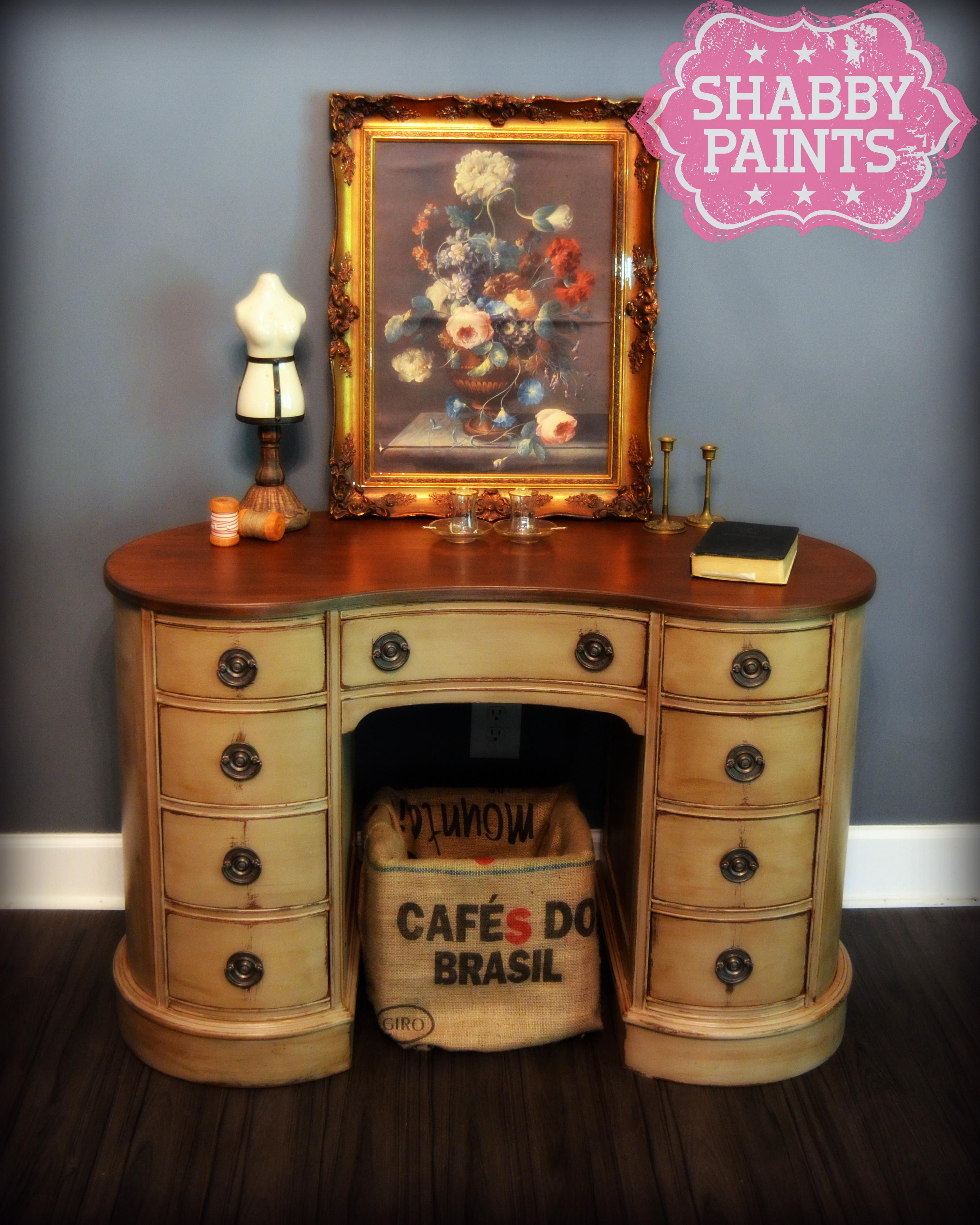 Hazelnut ReVAX easy to use stained Top. Shabby Chalk Acrylic Paint   Shabby Paints