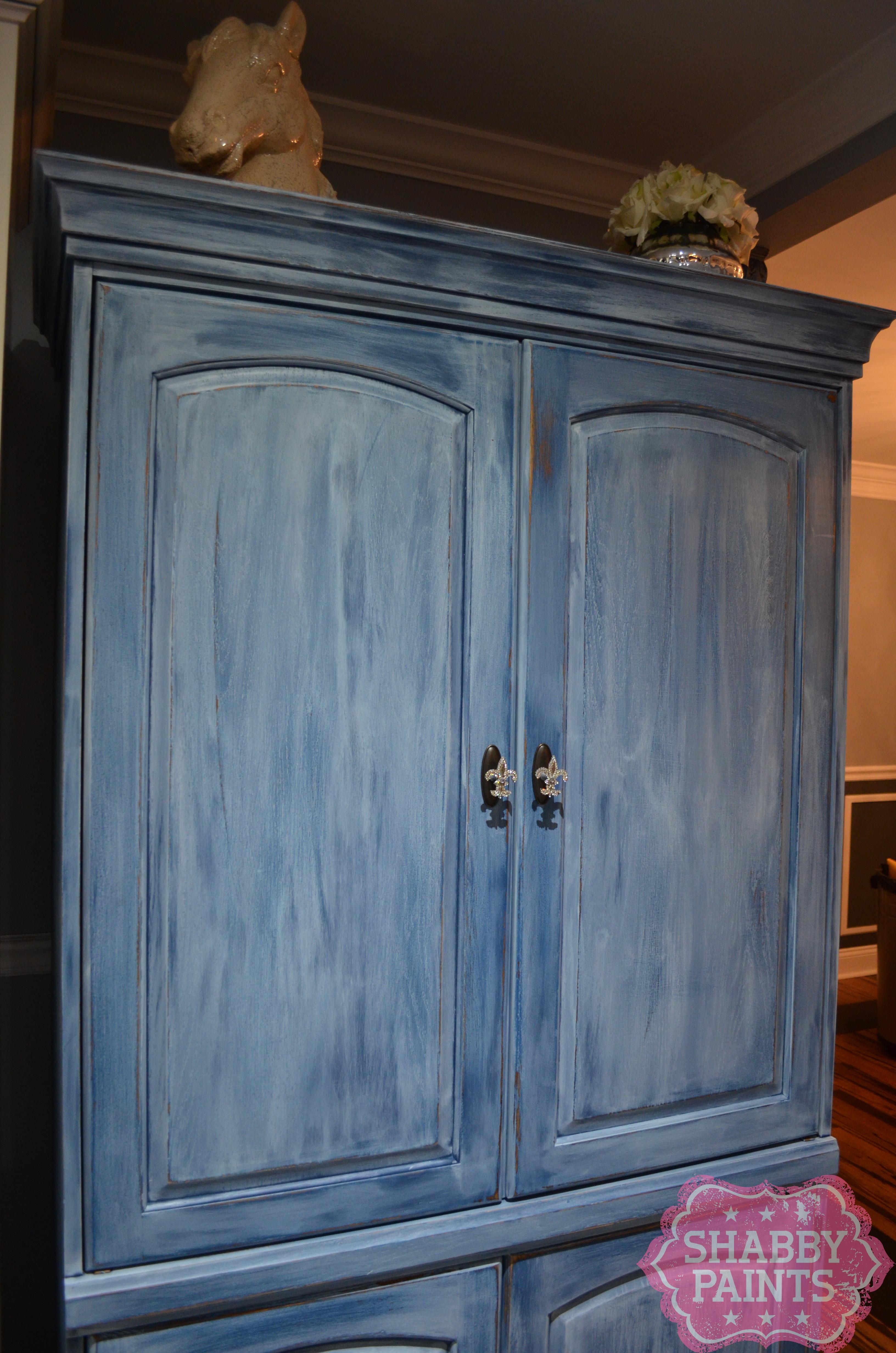repurpose tv entertainment center shabby paints. Black Bedroom Furniture Sets. Home Design Ideas