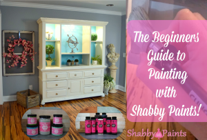 How to paint with shabby paints1