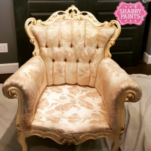 Chalk Paint Upholstery Held Up