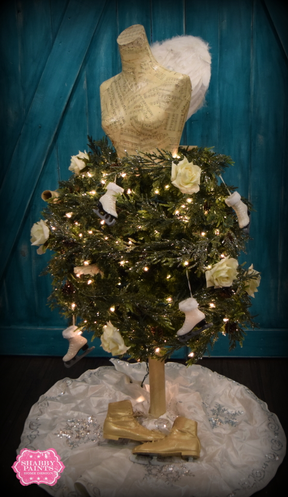 Dress form Christmas Tree How to