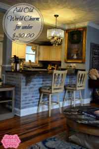 faux brick old world pinterest