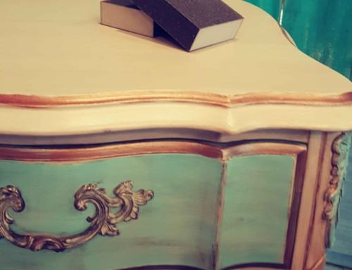 Furniture Flipping Success and a Professional Finish over Chalk Paint