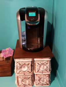 DIY Coffee stand