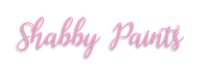 Shabby Paints Sticky Logo