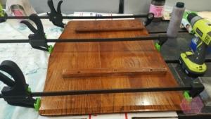 repair oak table
