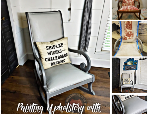 Painting Fabric Upholstery – In 7 Easy Steps