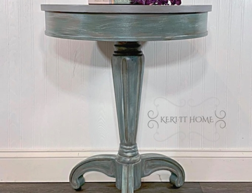 Layering and Highlighting Furniture with Chalk Acrylic Paint