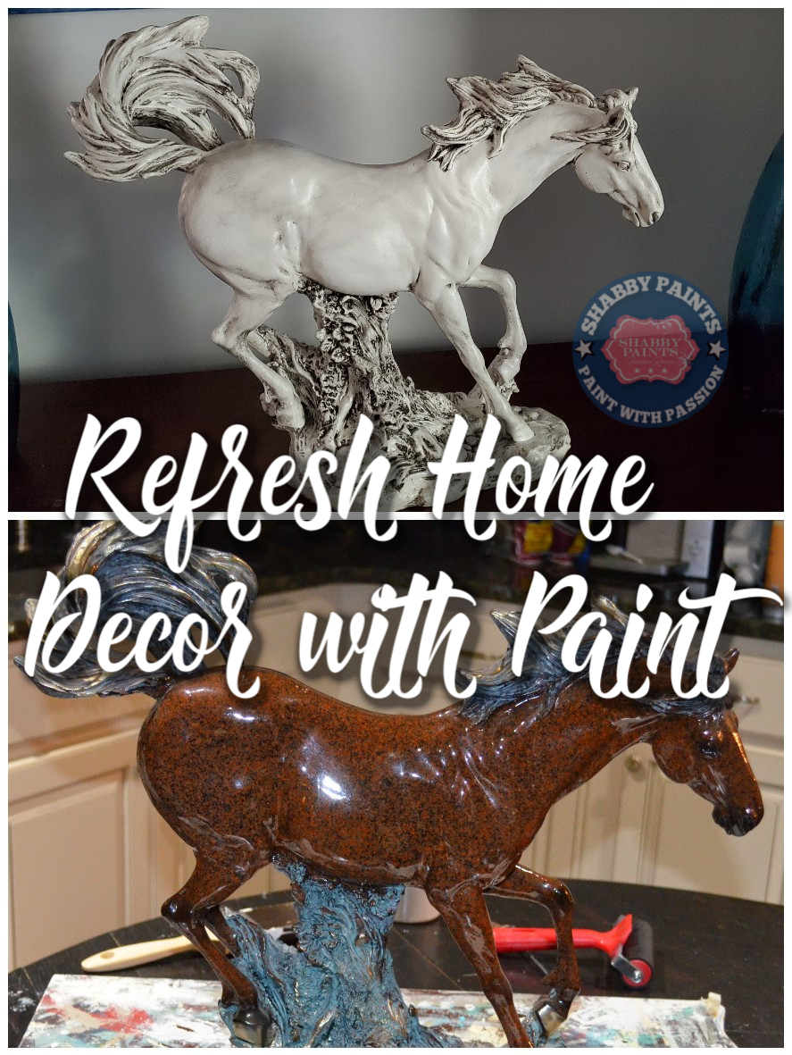 update home decor with paint